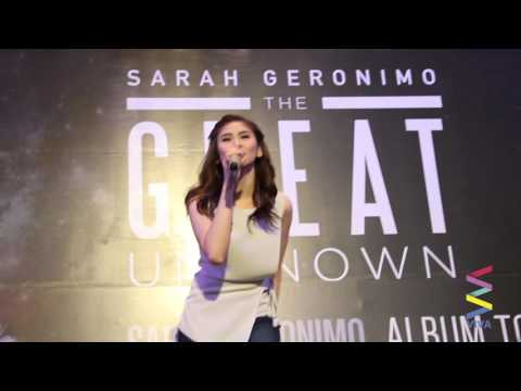 Sarah Geronimo's TALA in acoustic!