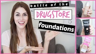 Battle of the Drugstore Foundations: Round 2