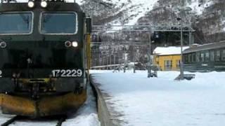 Flåmsbana - Myrdal-Flåm - Norge, Norway, Norwegen - Winter 2010