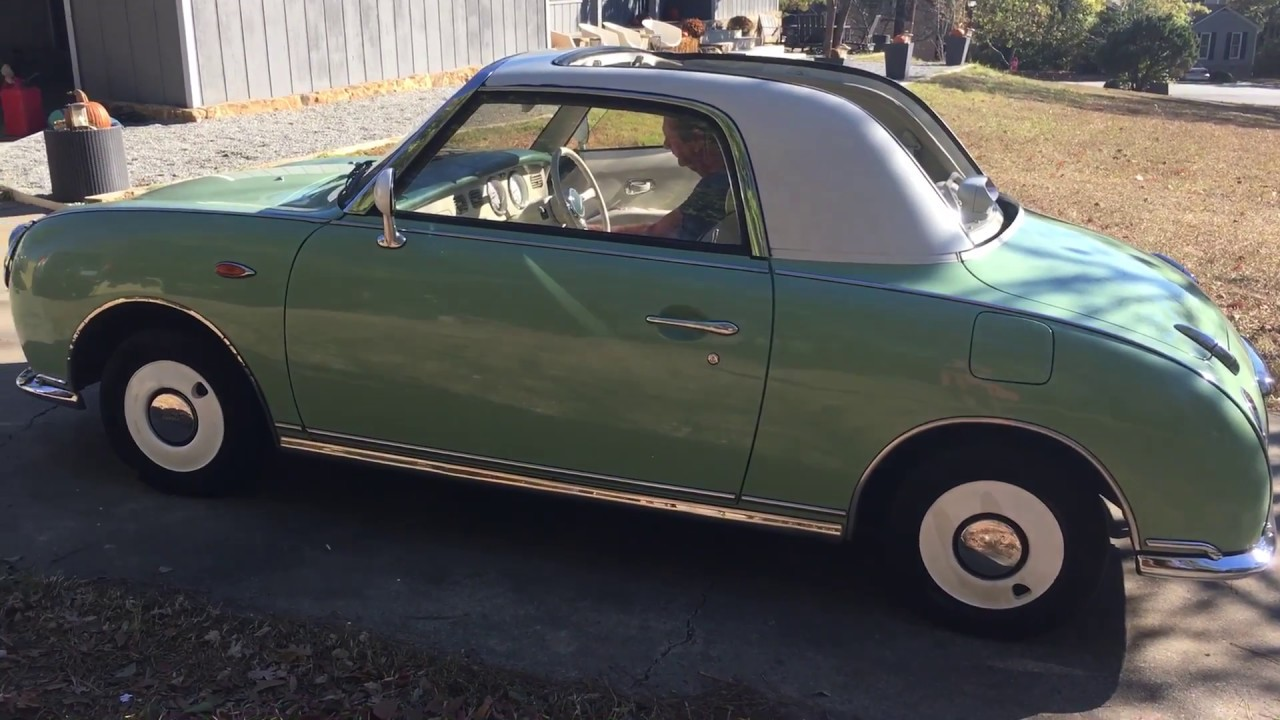 1991 Nissan Figaro For Sale In Usa Youtube