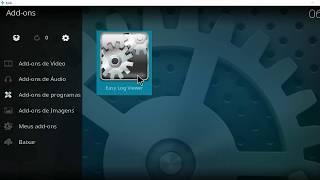 Kodi - Como Ver o Log de Erros - Log Viewer