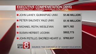 Study: Connecticut college presidents among highest paid in USA