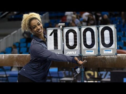 Danusia Francis' Perfect 10 Beam Routine
