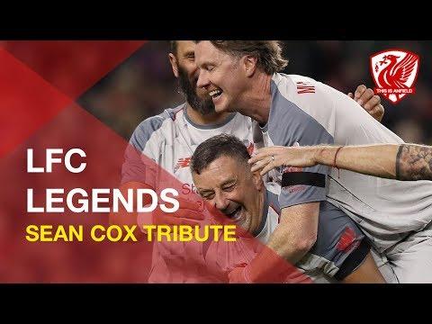 Liverpool Legends in Sean Cox Tribute Game in Dublin