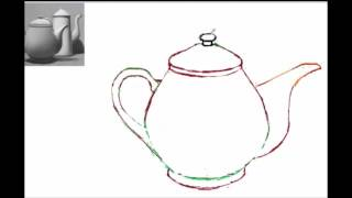 How to draw teapot Part1 & Part 2