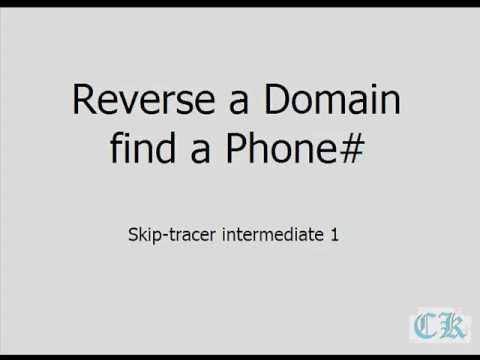 Find Out Who Owns the Domain or Website - Reverse Domain Search ...
