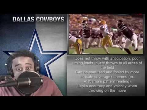"LawTalkRadio||""Dak""Prescott 101||Dallas Cowboys Scouting Report HD"