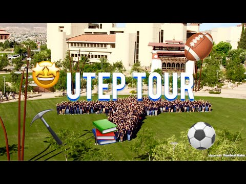 💙⛏UTEP TOUR | ft.Jose Pablo Gómez