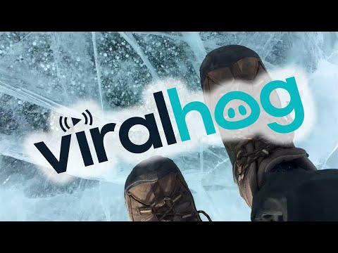 Rick Woodell - Lets take a walk on a frozen Lake. Lake Baikal is 2,400 feet deep!
