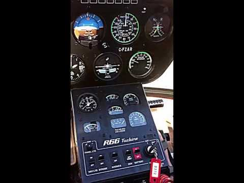 R66 Demo flight.  Gross weight(2700 lb) vertical take-off at 27 Deg C