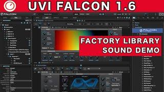 UVI Falcon Synthesizer 1.6 New Presets Demo   SYNTH ANATOMY