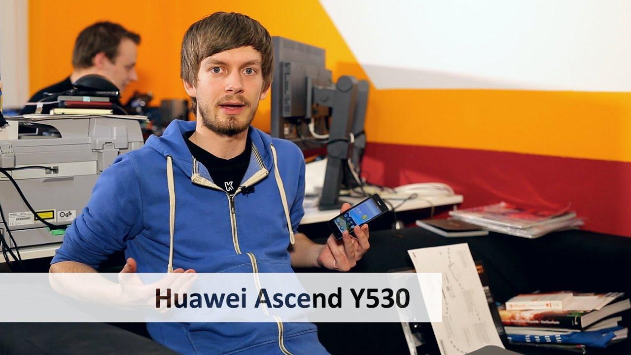 huawei ascend y530 einsteiger smartphone im test. Black Bedroom Furniture Sets. Home Design Ideas