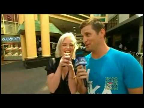 2010 AFL Footy Show - Street Talk - Adelaide (29/04/10)