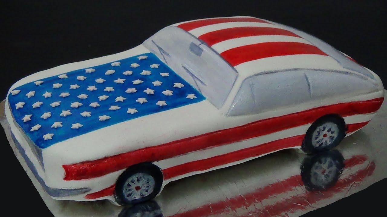 american car cake YouTube