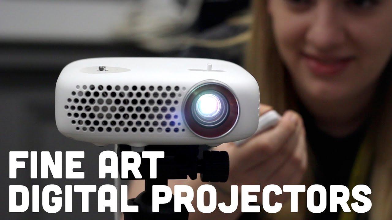 fine art digital projectors artograph youtube