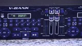 VocoPro V-BANK Dual Deck Multi-Format DVD Hard Drive System with DVD AVI Mp3 Ripper