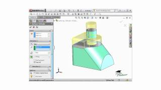 Creating Surface Extrudes from an Existing Face - SOLIDWORKS Tutorial