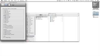Display Missing Finder Sidebar / Icons - Mac OS X Mavericks
