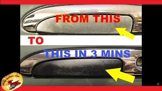 Make Faded Trim & Plastic LOOK NEW Again.....in 3 Minutes