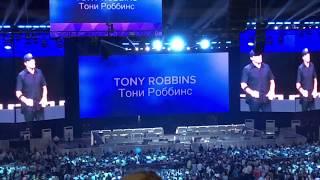 Тони Роббинс в Москве. Tony Robbins in Moscow. September 1, 2018.