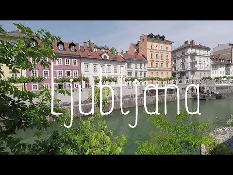 Boondocking in cute Ljubljana and experiening floods in Celje town