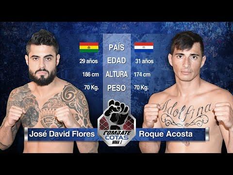 Jose David Flores vs Roque Acosta
