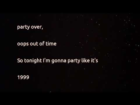 Prince - 1999 (lyrics)
