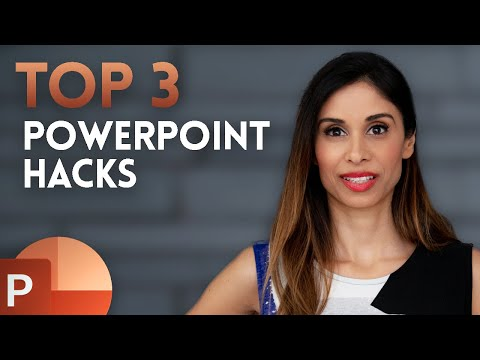3 PowerPoint HACKS For INSTANT Improvement (incl. Morph Between Shapes)