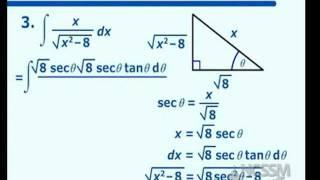 Trigonometric Substitutions