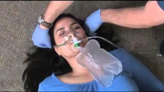 4 2 oxygen via non rebreather mask bls
