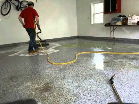 Garage Floor Pressure Washing You
