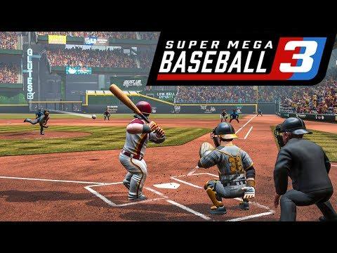 Super Mega Baseball 3 Is Coming W/ New Franchise Mode! (April 2020)