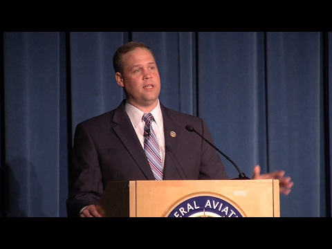 Rep. Jim Bridenstine Addresses FAA Commercial Space Transportation Conference