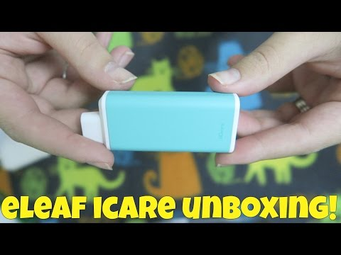 ELeaf ICare Unboxing! | TiaVapes Review