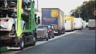 Der LKW-Infarkt - Warum wir im Stau stehen und dafür auch noch bezahlen müssen | Autobahn