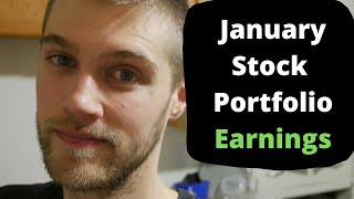 Dividend Investing - January 2020 Stock Portfolio Earnings and Update