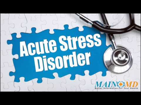 Acute Stress Disorder ¦ Treatment and Symptoms - YouTube