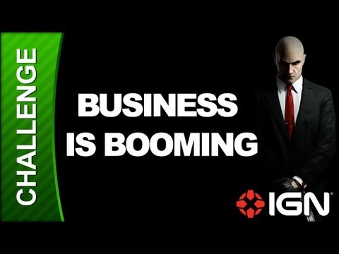 Hitman: Absolution Challenge Guide - Run for Your Life: Business is Booming