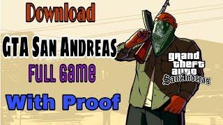 Download GTA San Andreas Full Game (Free)