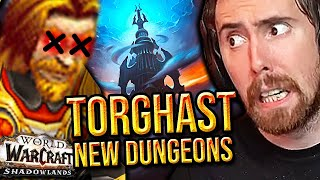 Asmongold SAVES Mcconnell While Trying Torghast 2 NEW Dungeons | WoW Shadowlands