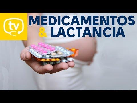 Los medicamentos y la lactancia