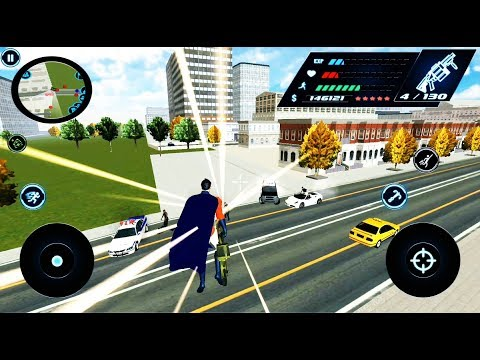 SuperHero Crime Simulator Game #19 Max Power | by Naxeex LLC | Android GamePlay 2018 FHD