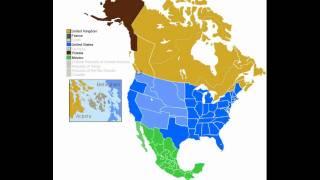 История Северной Америки с 1750 года