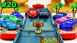 Disney Cars Toys Launcher Race Tournament Vol.20 Next generation Racer VS Legend Racer