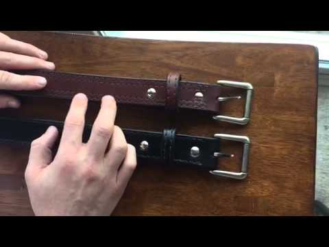 leather gun belt review