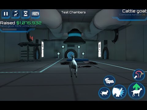 Goat simulator waste of space: How to complete the test chambers