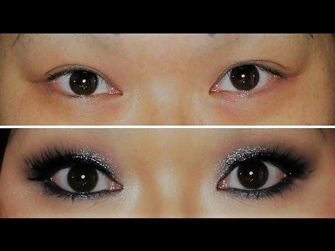 hooded eyes makeup tutorial classic smokey eyes schlupflider panda youtube. Black Bedroom Furniture Sets. Home Design Ideas