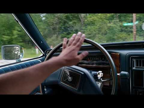 1987 Cadillac Brougham 5.0 Glacier Blue - Country Side Driving
