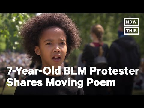 7-Year-Old Delivers Powerful Poem at BLM Protest | NowThis