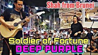 Download lagu Soldier of Fortune DEEP PURPLE Bob suka dgn suara Brader Shah dari Brunei ni Nyanyian padu beb